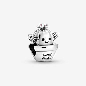 Pandora  Free Hugs Cactus Charm